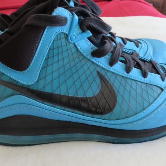 buy popular e343f 3b3fd Nike Air Max Lebron 7 2010 All Star Chlorine Blue